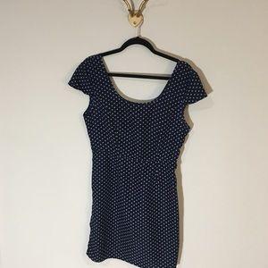 flat black by pegleg nyc bow dress